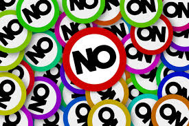 curajul de a spune nu